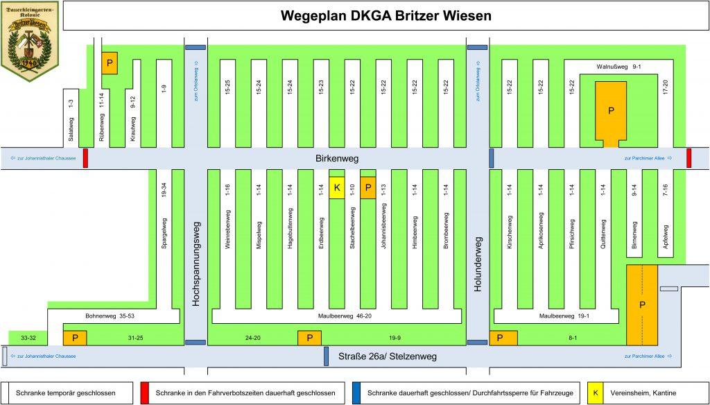 Wegeplan, DKGA Britzer Wiesen
